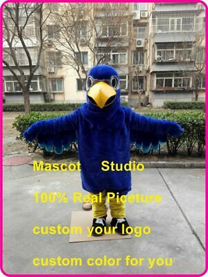 Blue Eagle Mascot Costume Suit Cosplay Party Game Dress Outfit Halloween Fancy • 256.50£