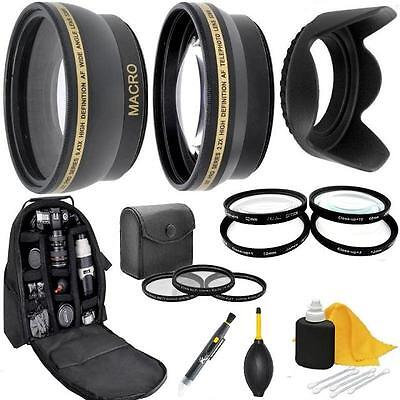 AU117.30 • Buy Accessory Kit (Lens Filters Backpack) For Sony A5000 A5100 A6000 A6100 A6300