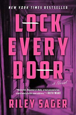 $21.45 • Buy Lock Every Door: A Novel By Riley Sager (English) Hardcover Book Free Shipping!