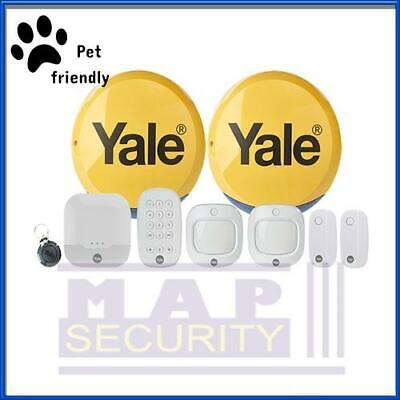 Yale Ia-330 -pf Sync Pet Friendly Family Alarm Kit,full App Control *new* • 390£
