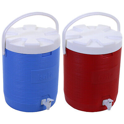 25L Drinks Flask With Tap Insulated Cooler Cold Picnic Thermos Large Ice Box NEW • 24.99£