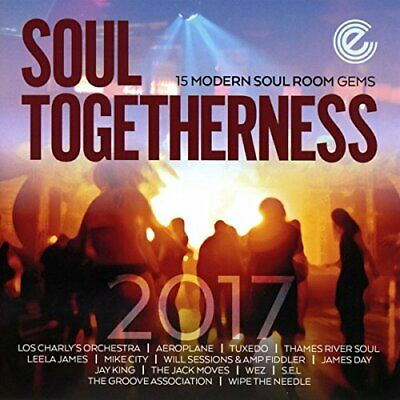 VARIOUS - SOUL TOGETHERNESS 2017 - CD - New • 13.19£