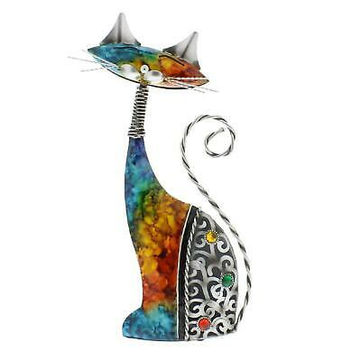 £13.99 • Buy Country Living Hand Painted Metal Ornament Indoor Or Outdoor Statue