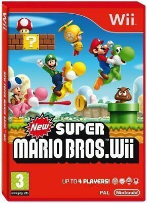 Wii - New Super Mario Bros - Same Day Dispatch - Boxed - VGC • 19.97£