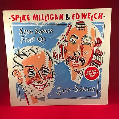 SPIKE MILLIGAN ED WELCH Sing Songs From Q8 1979 UK Vinyl LP EXCELLENT CONDITION • 19.99£