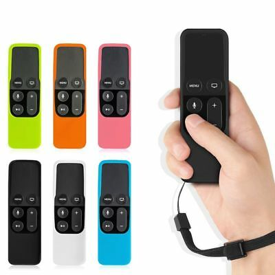 AU3.67 • Buy Silicone Protective Case Cover Remote Control Shockproof For Apple TV 4, 4K Siri