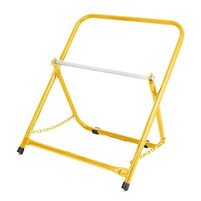 AdirPro Yellow Portable Electrical Wire Spool Caddy Foldable Cable Rack Holder • 29.66£