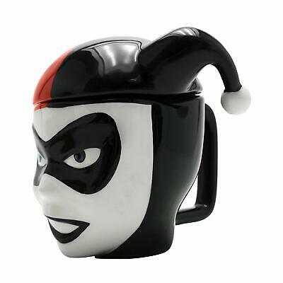 £17.95 • Buy Official Dc Comics 3d Harley Quinn Coffee Mug Cup With Lid New In Gift Box