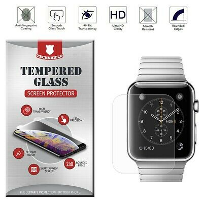 $ CDN2.68 • Buy For Apple Watch Series 4 3 2 1 [Bubble Free] Tempered Glass Screen Protector