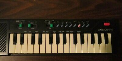 $40 • Buy  Casio PT-10 Electronic Keyboard Piano  Portable Tested Works!