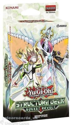 YuGiOh! Structure Deck: Rokket Revolt :: Brand New And Sealed Box! :: • 10.89£