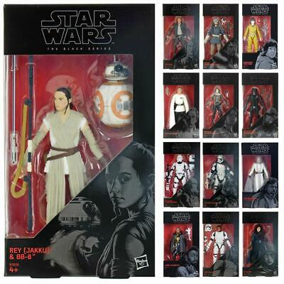 Star Wars Action Figures The Black Series 6 Inch Poseable Collectable Toys 4+ • 12£