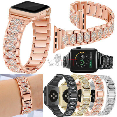 AU15.99 • Buy Apple Watch Series 5 4 3 2 1 38-44MM Stainless Steel Bracelet IWatch Band Strap