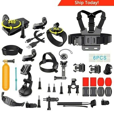 $ CDN274.16 • Buy GoPro HERO 7 Silver Edition Touch-Screen Camera + 40 PCS Sports Accessory Bundle