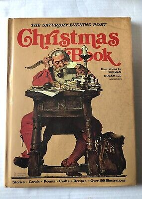 $ CDN6.65 • Buy The Saturday Evening Post Christmas Book Norman Rockwell Hardcover