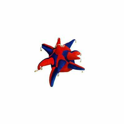 Red And Blue Jester Hat With Bells • 9.99£
