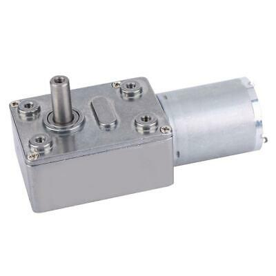 24V 6-150RPM Micro DC Speed Reduction Motor High Torque Turbo Worm Gear Motor M • 12.43$