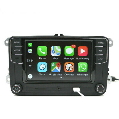 AU520 • Buy Original Genuine Noname Volkswagen VW Head Unit CarPlay Android Auto RCD330 Plus
