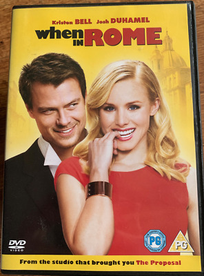 When In Rome DVD 2003 Family Film Movie W/ Mary-Kate & Ashley Olsen Twins • 8£