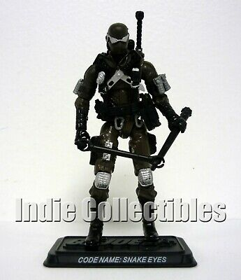 $ CDN46.13 • Buy GI JOE SNAKE EYES 25th Anniversary Action Figure Exclusive COMPLETE C9+ V39 2009