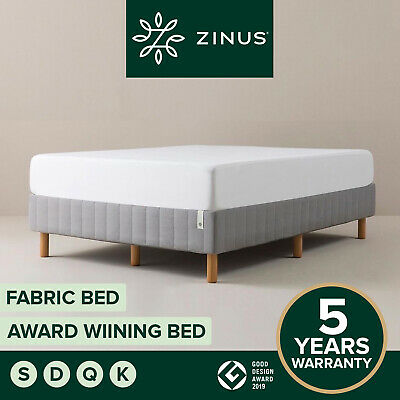 AU259 • Buy NEW Zinus QUEEN Bed Base KING DOUBLE SINGLE Ensemble Steel Frame Support