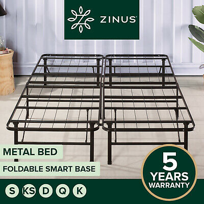 AU149 • Buy Zinus Folding Bed Frame KING SINGLE DOUBLE QUEEN Size Mattress Base Platform