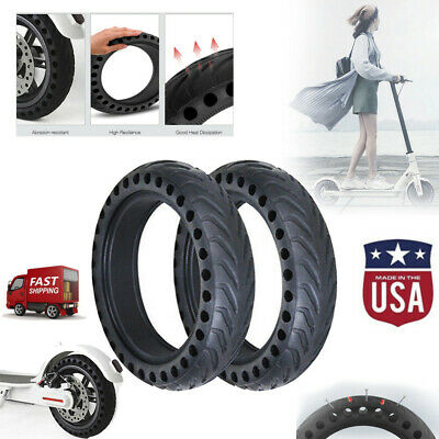 $16.88 • Buy 1 PC Xiaomi Mijia M365 Solid Rear Tire Non-Pneumatic, Shock Absorb Honeycomb
