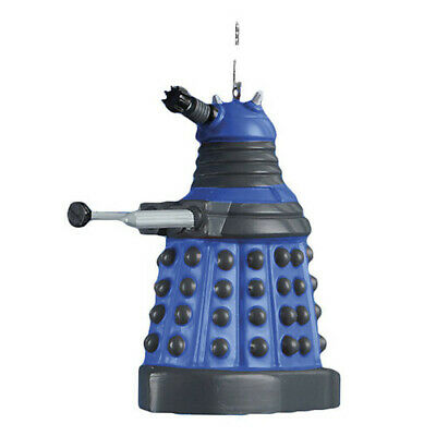 Doctor Who 2.5  Dalek (Blue) Blow Mold Christmas Ornament BRAND NEW • 15.76£