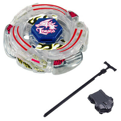 $7.69 • Buy Lightning L-Drago 100HF Beyblade BB43 L Ldrago Metal Fusion WITH LAUNCHER RIPPER