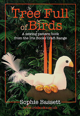Tree Full Of Birds Christmas Sewing And Craft Pattern Book • 3.50£
