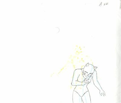 $ CDN57.09 • Buy Catwoman From Batman The Animated Series Animation Drawing Rare!