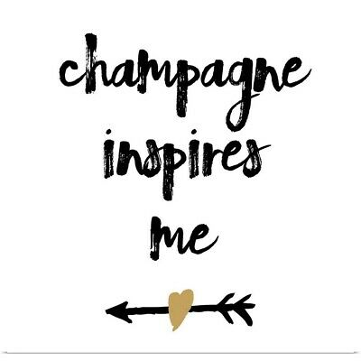 $54.99 • Buy  Champagne  Poster Print