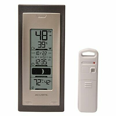 $28.07 • Buy AcuRite 00592A4 Wireless Indoor/Outdoor Thermometer With Humidity Sensor