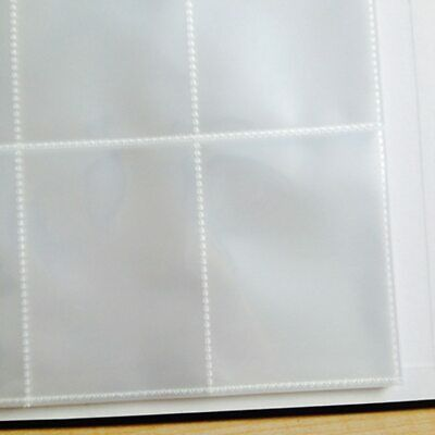 50-100 Pieces/Lot Transparent Sports Storage Sleeves Protector 9 Pocket Mgt Page • 31.41£
