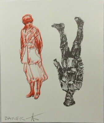£75 • Buy Charming Baker, Soldier And Nurse, Signed Limited Edition Print