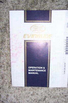 $17.99 • Buy 2001 Evinrude E200 225 250 FFI Outboard Motor Owner Operation Manual S