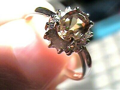 AU142.74 • Buy Sterling 925 Silver Ring Russian Alexandrite 8 Small Solitaire Color Change WOW