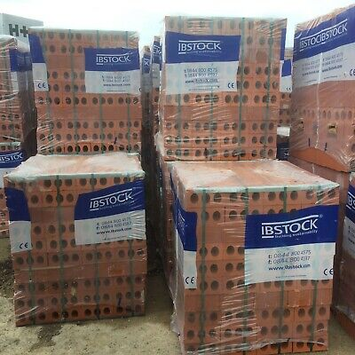 Red House Bricks Ibstock £400 Per Thousand Nationwide Delivery • 400£