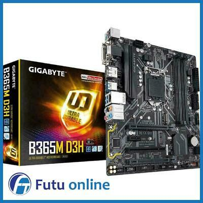 AU195 • Buy Gigabyte B365M D3H Intel LGA1151 MATX Gaming Motherboard DDR4 DP HDMI M.2 USB