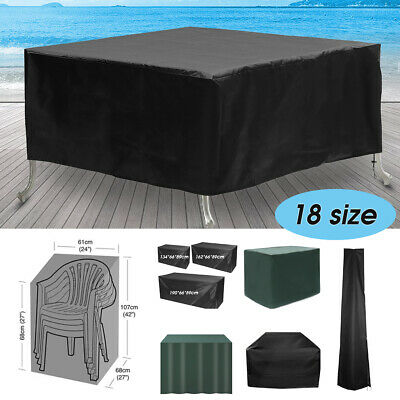 Waterproof Garden Bench Patio Furniture Set Cover For Outdoor Table Rattan Cube  • 22.48£