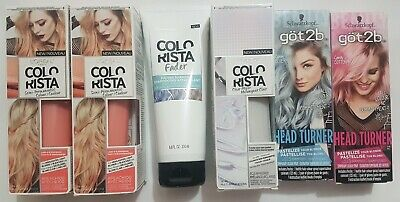 Lot L'Oreal Colorista Semi Permanent Hair Color PEACH Clear Mixer Fader Shampoo  • 14.13£