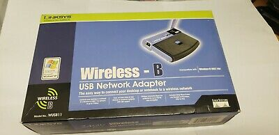 $21.50 • Buy Linksys Wireless B USB Network Adapter Model No WUSB11 Networking Connectivity