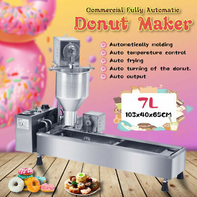 £767 • Buy 3KW Commercial Automatic Donut Maker Machine & 3 Free Stainless Steel Mold