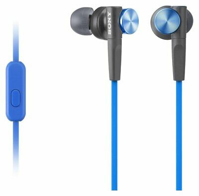 Sony MDRXB50 Extra Bass In-Ear Foldable Wired Headphones - Blue • 16.18£