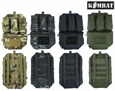 £19.99 • Buy Kombat Guardian Militray Army Assault Panel Webbing Vest Molle For Plate Carrier