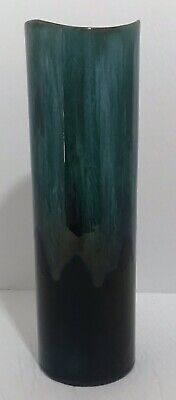 $ CDN25 • Buy Blue Mountain Pottery Green Glaze Tall Cylinder Vase BMP