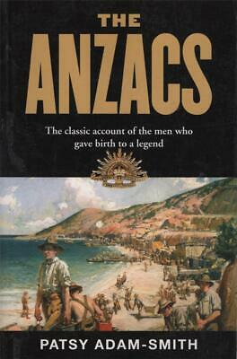 AU18.74 • Buy The Anzacs - World War I - Patsy Adam-smith Excellent Used Pb Fast Free Post