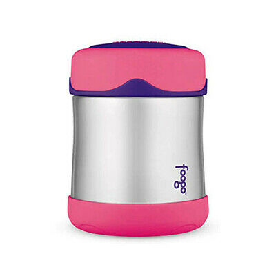AU47.95 • Buy PINK Thermos Foogo 290ml Stainless Steel Vacuum Insulated Food Container Jar