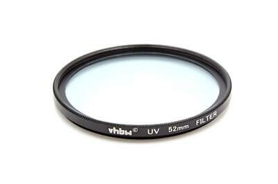 Universal Protective UV Filter 52mm For Nikon 600 Mm 4 AF-S D IF ED II • 5£