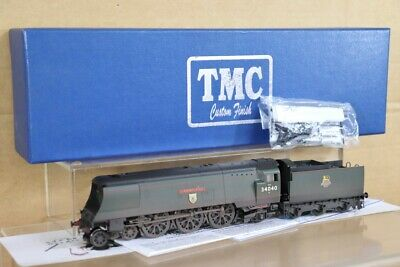HORNBY R2542 TMC WEATHERED BR 4-6-2 WEST COUNTRY LOCO 34040 CREWKERNE BOXED Nt • 249.50£